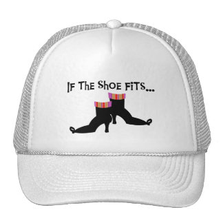Witch Shoes T-shirts and Gifts Trucker Hat