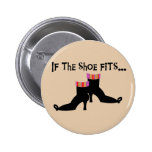 Witch Shoes T-shirts and Gifts Pinback Button
