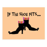 Witch Shoes T-shirts and Gifts Post Cards