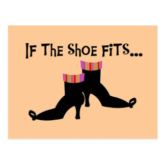 Witch Shoes T-shirts and Gifts Postcard