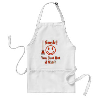 Witch Smile Adult Apron