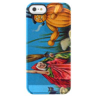 Witch Spell Jack O' Lantern Pumpkin Black Cat Clear iPhone SE/5/5s Case