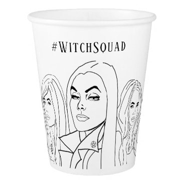 Halloween Themed Witch Squad Paper Cup