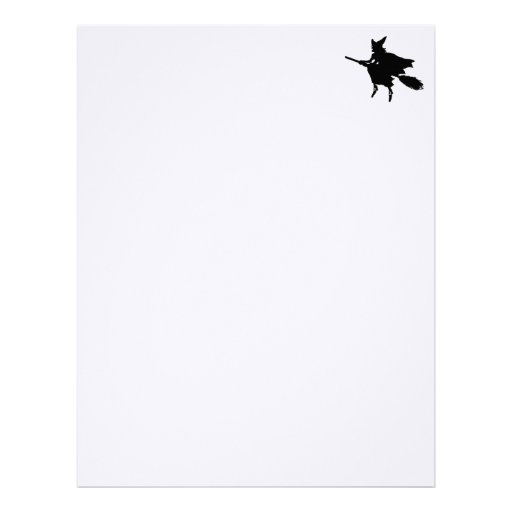 Witch Stationery Letterhead Template