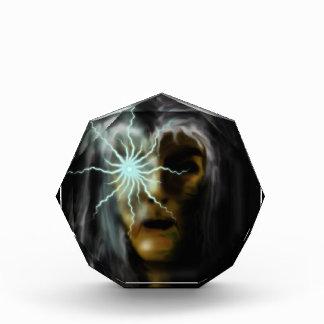 Witch (tan) acrylic award