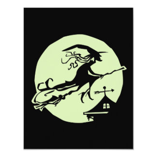 Witch Vane Moon Card