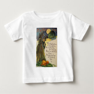 Witch (Vintage Halloween Card) T Shirt