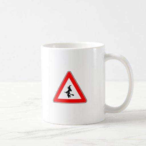Witch warning mugs