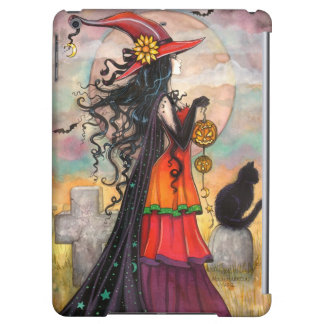 Witch Way Halloween Witch Fantasy Art iPad Air Cover