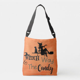 Witch Way To Candy Bag
