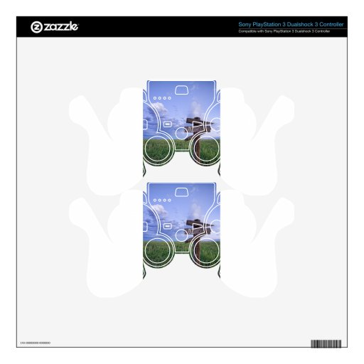 Witch Way to OZ PS3 Controller Skin