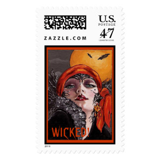 Witch...Wicked! Stamp