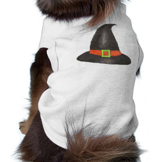 Witch Witches Hat Happy Halloween Pet Tee