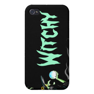 Witch Witchy Seer Crystal Ball Scry iPhone 4 Case
