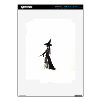 Witch With a Magic Wand iPad 3 Skins