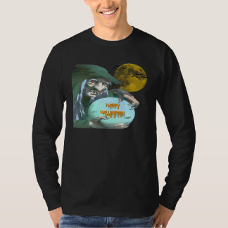 Witch with Crystal Ball T-Shirt