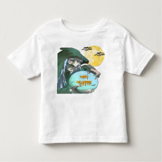 Witch with Crystal Ball Toddler T-shirt