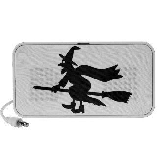 Witch with the broom flies mp3 speaker