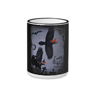 Witch You a Happy Halloween Raven Mug