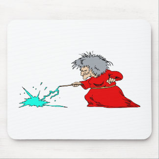 Witch zapping spell mousepads