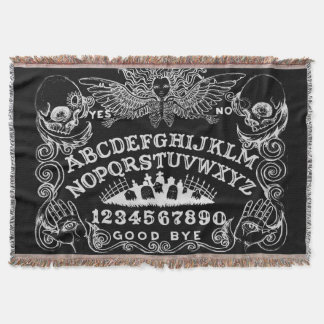 Witchboard throw blanket