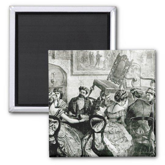 Witchcraft, 1871 magnet