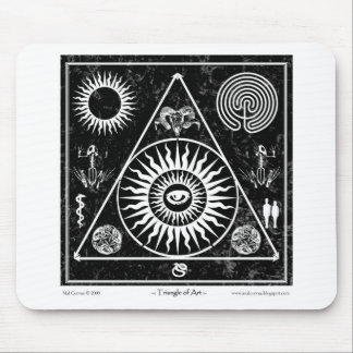 Witchcraft: A Triangle of Art #3 Mouse Pad