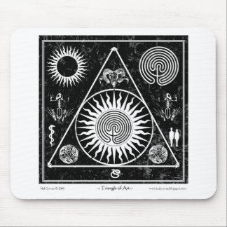 Witchcraft: A Triangle of Art #4 Mouse Pad