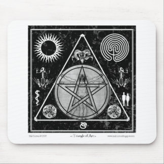 Witchcraft: A Triangle of Art #5 Mouse Pad