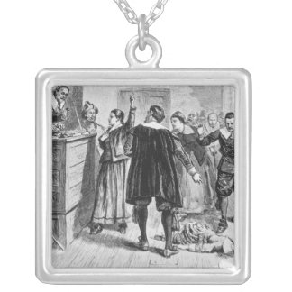 Witchcraft at Salem Village Silver Plated Necklace