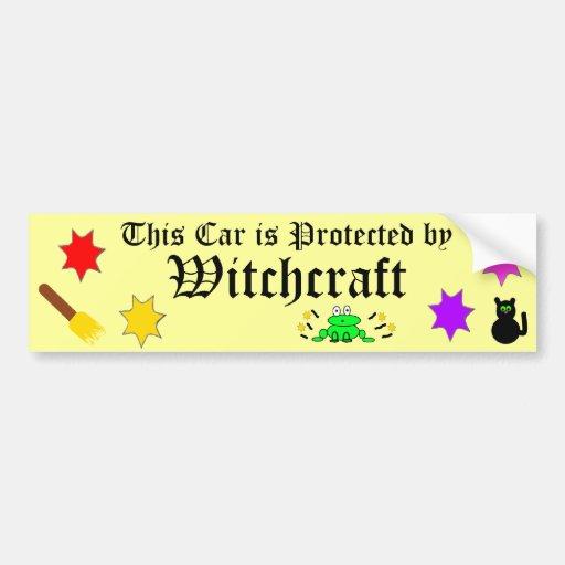 witchcraft bumper stickers