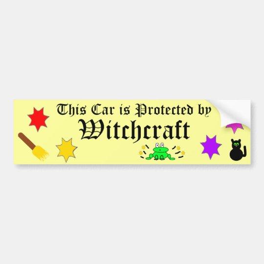 Witchcraft bumper sticker