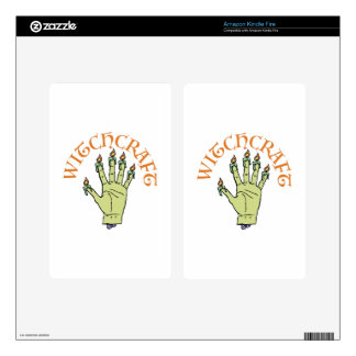 Witchcraft Decals For Kindle Fire