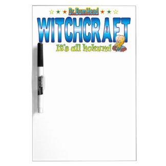 Witchcraft Dr. B Head Dry Erase Whiteboards