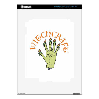 Witchcraft iPad 3 Decal