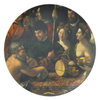 Witchcraft or Allegory of Hercules, c.1535 (oil on Plates