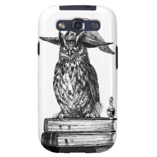 Witchcraft owl Halloween magic Samsung Galaxy SIII Case