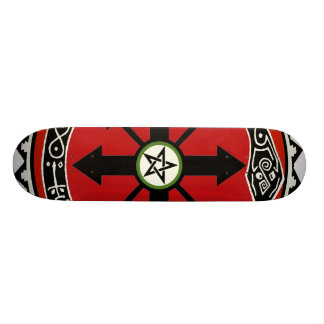 Witchcraft Pentacle Skateboard