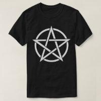 Witchcraft Pentagram Symbol Pagan Wicca T-Shirt