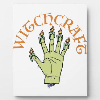 Witchcraft Plaque