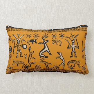 Witchcraft Ritual Design Lumbar Throw Pillow