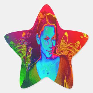 Witchcraft Star Sticker