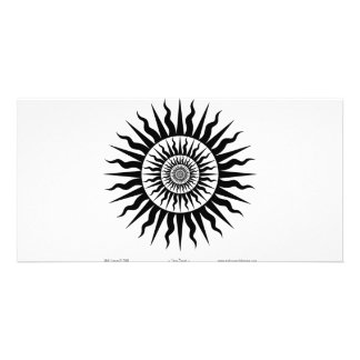 Witchcraft: Sun burst Custom Photo Card
