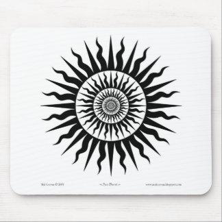 Witchcraft: Sun burst Mouse Pad