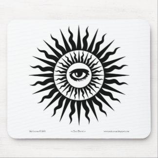 Witchcraft: Sunburst: Eye Mouse Pad