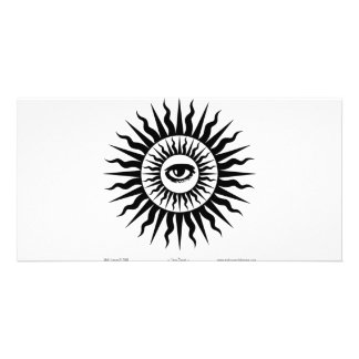 Witchcraft: Sunburst: Eye Photo Greeting Card