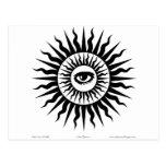 Witchcraft: Sunburst: Eye Post Cards