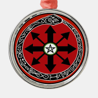 Witchcraft Symbol for Chaos Ornaments