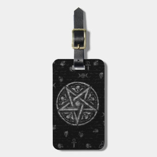 Witchcraft symbols bag tag