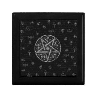 Witchcraft symbols gift box